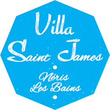 Villa Saint James Néris les Bains - Location d'appartements pour cures